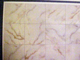 1/2 Scale Faux Tile Flooring Miniature WM24015