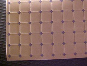 1/2 Scale Miniature Faux Tile Flooring WM24002