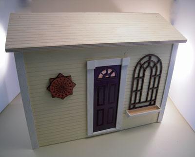 "1"" scale unfinished Alessio Miniatures garden trellis"