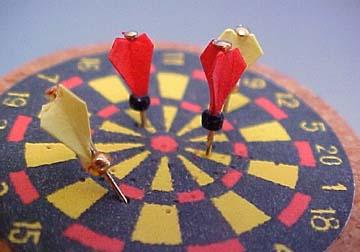 """g5h 1/2"""" dart board"""