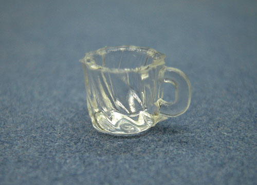 Clear Victorian Coffee Cup Set 1:24 scale