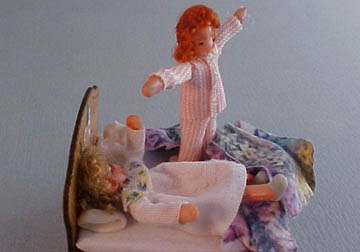 "gd001c 1/2"" Gayle Dolls Dolly Bed"
