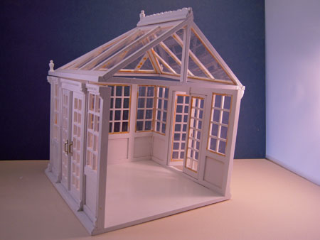 Townsquare Fully Assembled Conservatory 1:24 scale