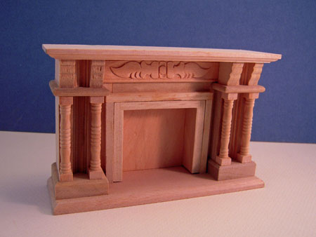 Unfinished Fireplace by Townsquare 1:12 scale