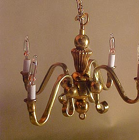 "hso 1/2"" scale chandelier"