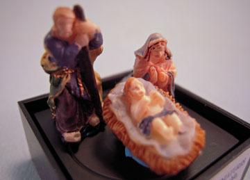 """jc21 1"""" scale jeannetta kendall nativity set"""