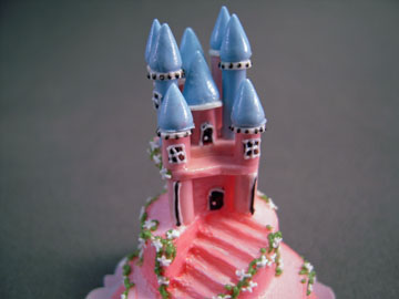 "k1111 1"" scale bright delights castle cake"