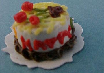 """ks2178 1/2"""" birthday cake"""