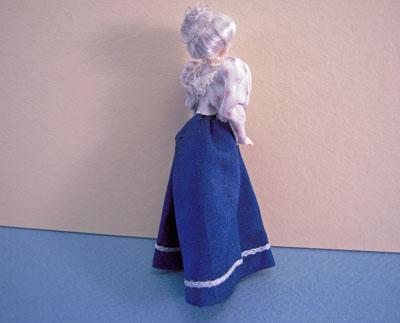 "1/2"" Scale Loretta Kasza Grandma Maria Porcelain Doll"