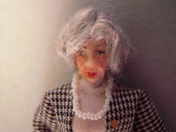 "lk413 1/2"" scale hatty the office manager doll"