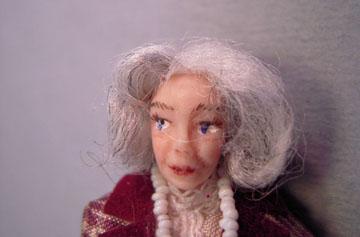 """lk416 1/2"""" scale margaret porcelain doll"""