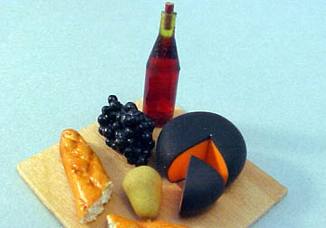 "mcm805 1"" cheese, wine and bread board"