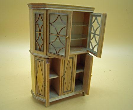 Bespaq Maritza Chere Natural Laquered Cabinet 1:12 Scale