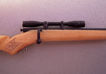 "mnm031 1"" scale miniature 30/06 rifle"