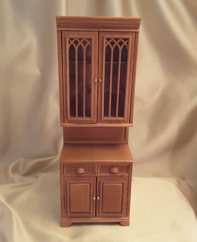 Majestic Mansions Cherry Cabridge Single Cabinet 1:12 P095CH