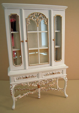"1"" scale Platinum Collection Barrington china cabinet"