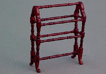 "1/2"" Scale Miniature Quilt Rack by Bespaq"