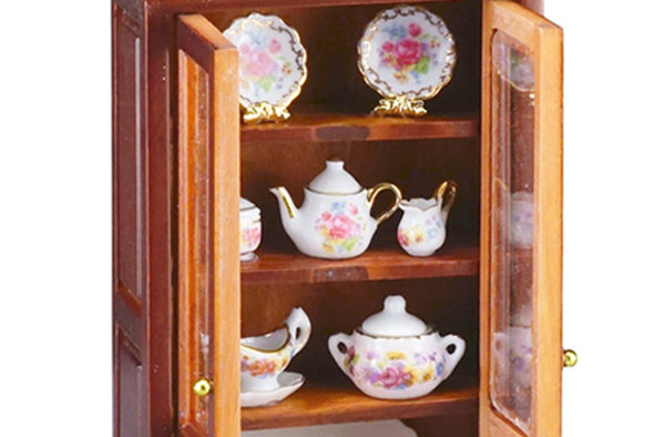 r7171 filled reutter porcelain china cabinet