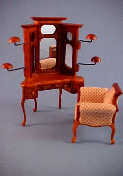 "s1905afdbnwn 1/2"" vanity chair"