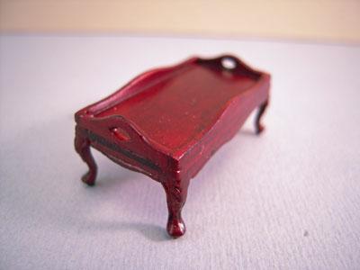 """bespaq 1/2"""" scale mahogany eloise bed tray"""