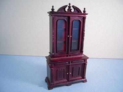 "bespaq 1/2"" scale mahogany chestney bookcase"