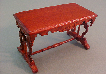 """s3272nwn 1/2"""" scale bespaq chestney library table"""
