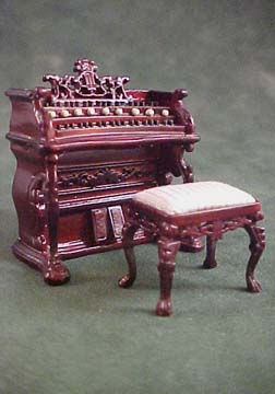 "1/2"" scale bespaq fantasy lyre music room set"