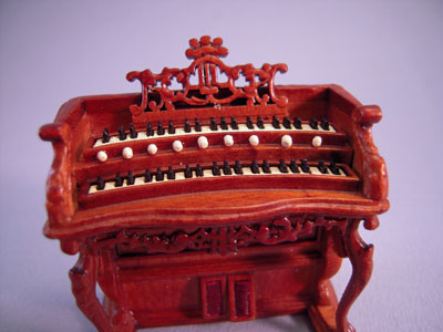 "s3557nwnset 1/2"" scale bespaq fantasy lyre bombe organ set"