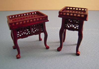 "1/2"" scale Bespaq miniature Washington mahogany parlor set"