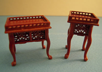 "1/2"" scale miniature Bespaq walnut Washington Parlor Set"