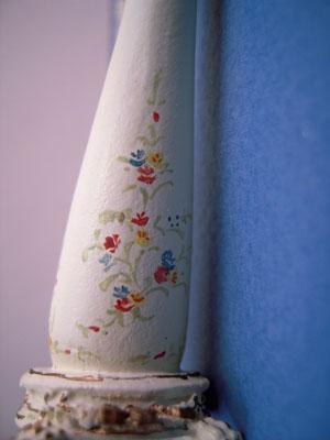 "Bespaq 1/2"" scale miniature Palais Harp"