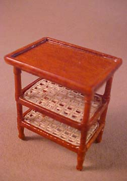 "s6202tnwn 1/2"" caned side table"