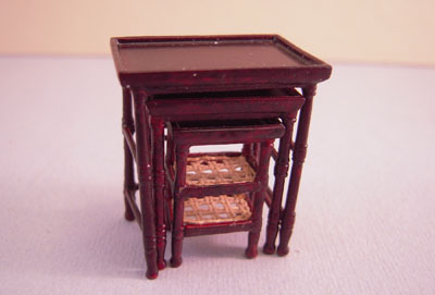 """bespaq 1/2"""" scale french country amise nesting tables"""