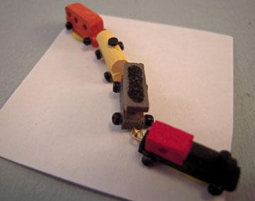 """stt02 1"""" scale wooden train"""