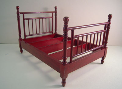 """1"""" scale Townsquare mahogany four piece bedroom set"""