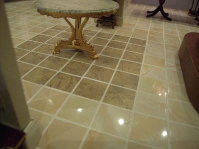 "1"" scale Mini-Magic floor tile sample"