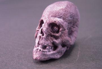 "tj805 1"" Scale Metal Skull"