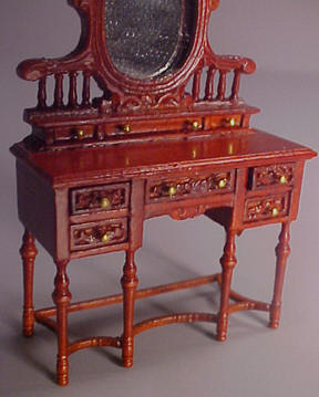"1/2"" Scale Bespaq Edwardian Vanity Miniature"
