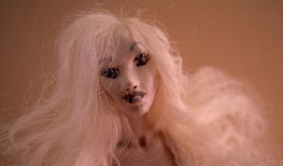 "Jan Smith 1"" Scale Marcia porcelain ghost doll"