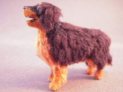 "z421 1/2"" scale alice zinn bernese mountain dog"