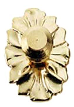 Houseworks Brass Medallion Door Knob 1:12 scale