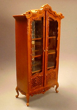 Bespaq Pierced Curio Cabinet 1:12 scale
