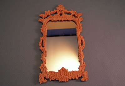 Bespaq Unfinished French Wall Mirror 1:12 scale