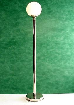 Brass Globe Floor Lamp 1:12 scale