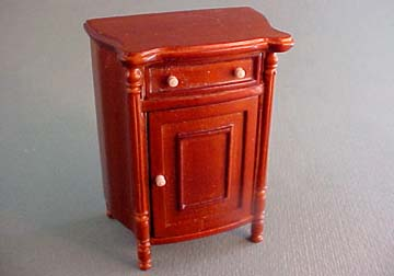 Bespaq Walnut Young Lady's Night Stand 1:12 scale