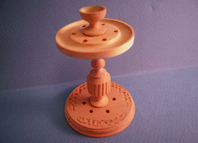 Bespaq Unfinished Cue Stand 1:12 scale