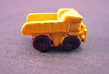 Island Crafts Metal Toy Dump Truck 1:12 scale
