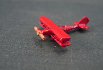 Island Crafts Metal Toy Bi Plane 1:12 scale