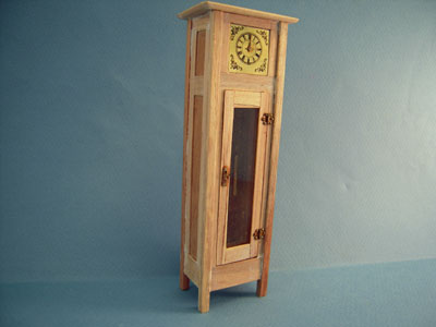 Bespaq Unfinished Mission Grandfather Clock 1:12 scale