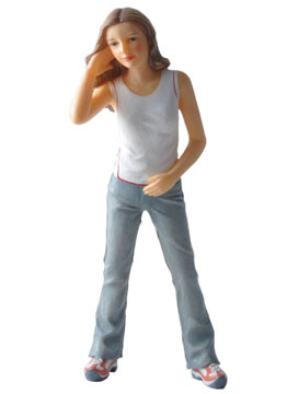 Houseworks Alyssa Teen Resin Doll 1:12 scale